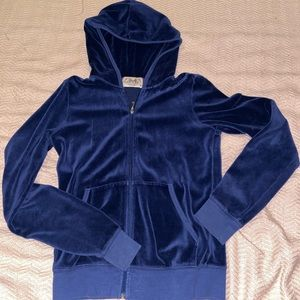 Juicy Couture velour regal jacket